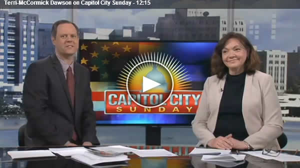 Terri McCormick Dawson appears on Capitol City Sunday